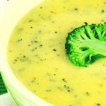 Soupe Brocolis, Courgettes & Oignons : Recette Super Healthy