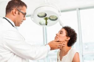 examen thyroïde